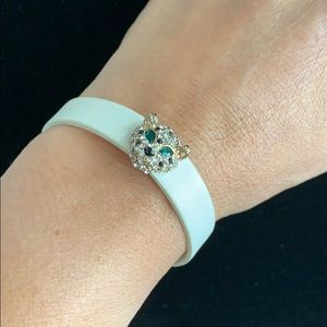 Jewelry - Leather panther charm bracelet ✨